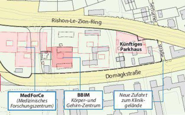 Forschungscampus Ost: Münsters neue größte Baustelle ...