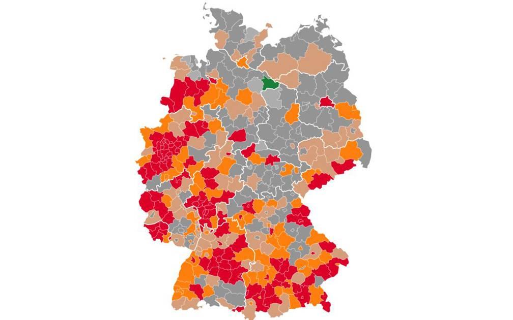 Karte Neuinfektionen Welche Stadte Und Kreise Sind Hotspots Antenne Munster